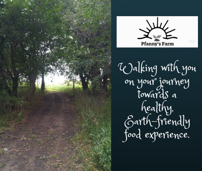 Walking with you on your journey towards a healthy, more Earth-friendly food experience